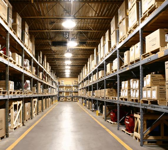 servidio de almacenaje