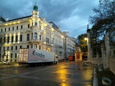 Transportes Escudero en evento en Viena